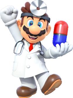 Dr. Mario in Dr. Mario World