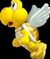 Golden Koopa Paratroopa Artwork - New Super Mario Bros. 2.png