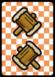 A Hammer ×2 Card in Paper Mario: Color Splash.