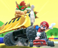 The icon of the Dry Bowser Cup's challenge from the 2020 Trick Tour in Mario Kart Tour.