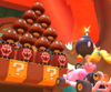 The icon of the Daisy Cup challenge from the 2020 Winter Tour in Mario Kart Tour