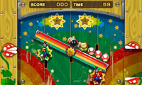 The Star 'Stache Smash minigame in both versions of Mario & Luigi: Superstar Saga