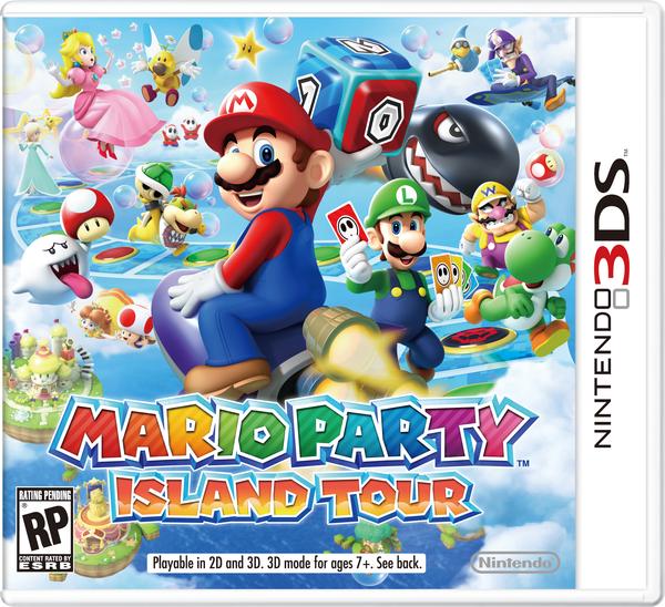 Beta box art of Mario Party: Island Tour.