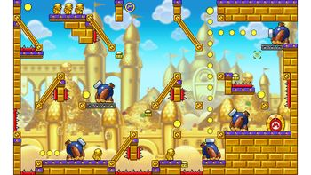 Miiverse screenshot of the 100th official level in the online community of Mario vs. Donkey Kong: Tipping Stars
