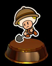 Collectable Treasure No. 63 (Professor Toad)