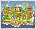 SML2 Artwork - Mario Land Map.png