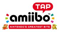 US logo of amiibo tap: Nintendo's Greatest Bits