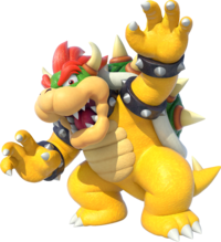 Artwork of Bowser from Mario Party 10 (later reused for Mario Party: Star Rush and Super Mario Party)