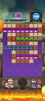 Stage 11B from Dr. Mario World