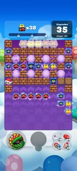 Stage 194 from Dr. Mario World since March 18, 2021