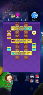Stage 8C from Dr. Mario World
