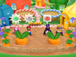 Garden Grab at day from Mario Party 6