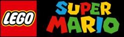 The LEGO Super Mario Logo, Transparent.