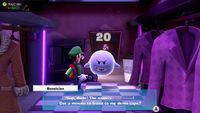 Boosician, a Boo from Luigi's Mansion 3, found in The Dance Hall.