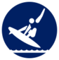 Event icon used for Surfing - Shortboard in Mario & Sonic at the Olympic Games Tokyo 2020