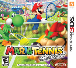 North American boxart for Mario Tennis Open