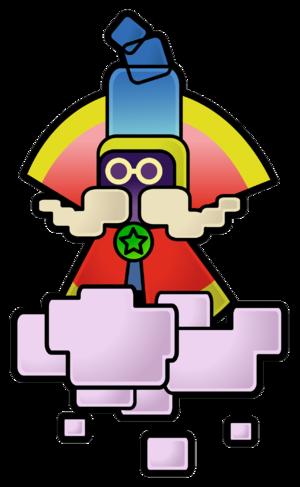 Bestovius from Super Paper Mario