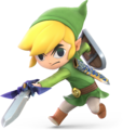 Toon Link from Super Smash Bros. Ultimate