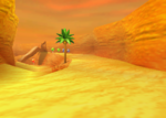 Fossil Canyon, from Diddy Kong Racing