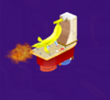 The DK Engine from Mario Party 5s Super Duel Mode.