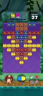 Stage 357 from Dr. Mario World since version 2.0.0