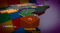 Luigi's Purple Coins. To see the reverse side, go to :File:8-bit Mario and Luigi Planet.png
