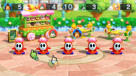 Shy Guy Shuffle, from Mario Party 10.