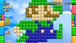 Luigi sighting in Rainbow Skywalk from New Super Luigi U