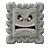 Thwomp icon in Super Mario Maker 2 (Super Mario 3D World style)