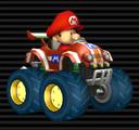 Baby Mario in the Tiny Titan