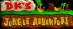 Logo sprite for DK's Jungle Adventure