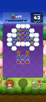 Stage 550 from Dr. Mario World since March 18, 2021