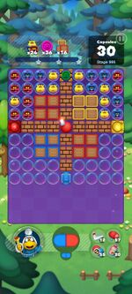 Stage 995 from Dr. Mario World