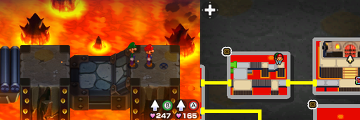 Location of the sixth beanhole in Bowser Path.
