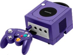Nintendo GameCube console & controller