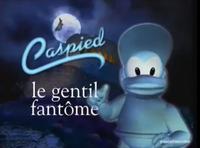 Skit title screen of Casper the Friendly Ghost, from La planète de Donkey Kong.