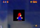 Mario finding the entrance to The Secret Aquarium
