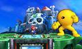Wily Castle in Super Smash Bros. for Nintendo 3DS.