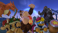 Challenge 98 from the tenth row of Super Smash Bros. for Wii U