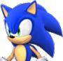 Sprite of Sonic