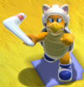 A Cat Boomerang Bro in Bowser's Fury