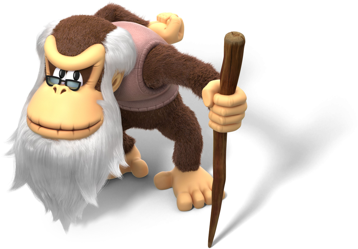 Cranky Kong - Super Mario Wiki, the Mario encyclopedia