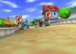 Greenwood Village, from Diddy Kong Racing.