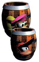 Artwork of Diddy & Dixie Barrels.