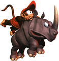 Diddy on Rambi DKC.png