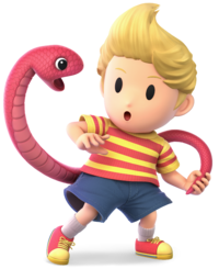 Lucas from Super Smash Bros. Ultimate