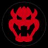 Bowser emblem from Mario Kart 8