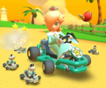 The icon of the Hammer Bro Cup challenge from the Summer Tour in Mario Kart Tour.