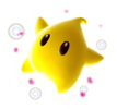 Artwork of a yellow Luma from Super Mario Galaxy