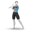 Wii Fit Trainer's male variant in Super Smash Bros. Ultimate